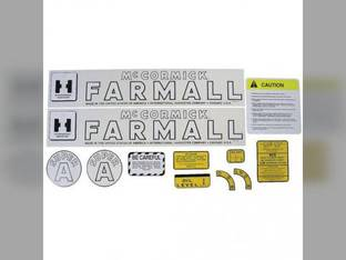 Mylar Decal Set - Farmall & Super A International Super A