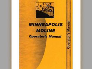 Operator's Manual - MM-O-G900 Minneapolis Moline G900 G900