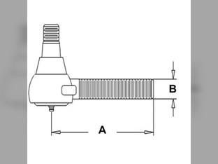 Tie Rod, Inner, Left Hand