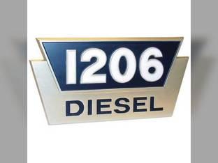 Tractor Emblem 1206 Diesel International 1206 2752935R1