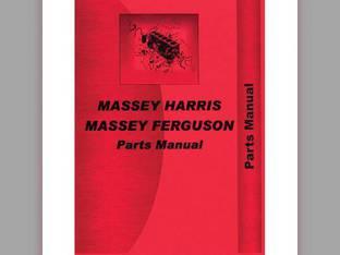 Parts Manual - MH-P-MF202 3 4 Massey Harris/Ferguson Massey Ferguson 202 202 204 204