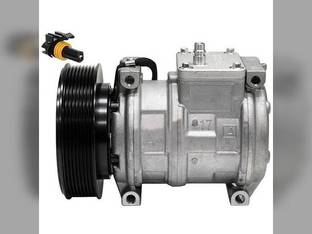 Air Conditioning Compressor - w/Clutch John Deere 724 753 644 1470 853 844 444H 300 850 870 624 903 950 1010 970 772 759 544 750 770 700 670 1710 1070 644H 909 250 672 755 762B 762A 608 762 959 444