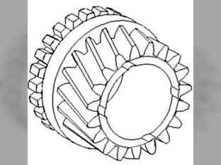 Gear,Transmission Input Shaft, Front
