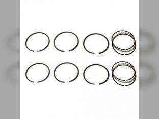Piston Ring Set - Standard - 2 Cylinder Allis Chalmers 7020 8010 190 180 7010 185 190XT 7000 200 Gleaner L2 M2 L John Deere 2010 Oliver 1650 1800 1655 1600 1750 White 2-70 Minneapolis Moline Waukesha