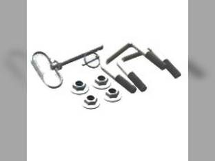 Stalk Stryker hardware kit for mounting bracket Case IH 2206 2208 2212 2406 2408 2412 3206 3208 3212 3406 3408 3412 John Deere 1243 1290 1291 1293 606 608C 612C 616 618 843 893