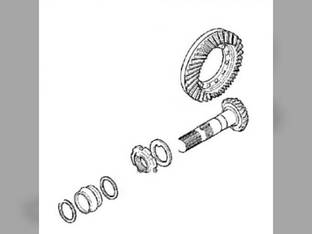 Bevel Gear and Pinion Kit - Carraro John Deere 5105 5205 RE73072