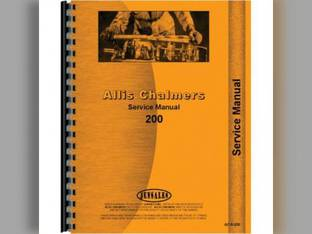 Service Manual - AC-S-200 Allis Chalmers 200