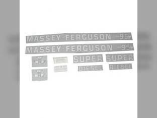 Tractor Decal Set 95 Super Diesel Vinyl Massey Ferguson 95