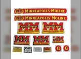 Tractor Decal Set G Mylar Minneapolis Moline G