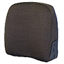 Seat Back - Brown Fabric