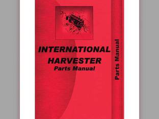 Parts Manual - 354 2300 2300A International 354 354