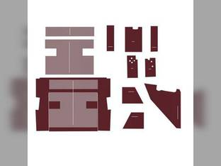 Cab Foam Kit less Headliner Maroon International 3388 3588 3788
