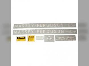 Tractor Decal Set 85 Vinyl Massey Ferguson 85