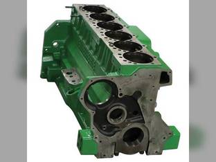 Remanufactured Engine Block - Bare 8.1L John Deere 6081 9760 STS 7810