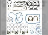 "Engine Rebuild Kit - Less Bearings - .040"" Oversize Pistons - 9/90-8/92 Ford BSD332 3430 445C 192 250C 3230 345C"