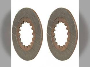 Brake Disc Set Case IH MX135 MX150 MX90C MX100C MX100 MX120 MX110 MX170 MX80C 1345726C1