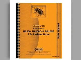 Operator's Manual - KU-O-B6100+ Kubota B6100 B7100