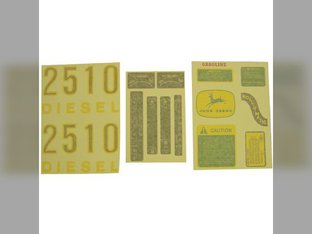Decal Set John Deere 2510