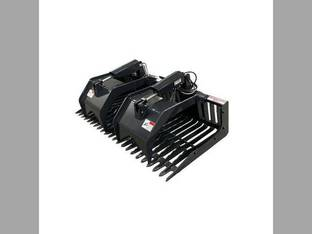 "Stout - Skid Steer Rock Grapple Bucket (Open End) 72"" Width"