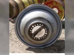 "Used 16"" X 42"" 20 Bolt 6""Silver Combine Dual Rim Case IH 7088 2588 2577 87386315"