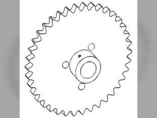 Feeder Beater Drive Sprocket Gleaner L3 L3 M3 M3 L2 L2 M2 M2 71194576