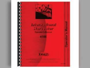 Operator's Manual - 4166 International 4166