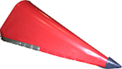 Cornhead Snout - Left Hand Outer with Point, Poly