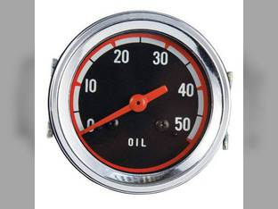 Oil Pressure Gauge Oliver 1850 1650 1555 1550 1655 White 2-78 4-78 2-65 158584A