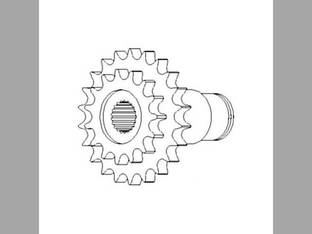 Feeder House Front Drive Sprocket John Deere 9560 9450 9650 9510 9500 9410 9610 9880 9400 9550 9750 9600 AH149349