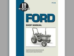 I&T Shop Manual - FO-46 Ford 2120 2120 1120 1120 1220 1220 1720 1720 1520 1520 1320 1320 1920 1920