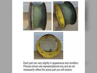 "Used 10"" X 24"" Rim 6 Loop John Deere 5410 5205 5400 5415 5200 5320 5520 5325 5210 5525 5220 5225 5105 5510 5425 5300 5500 5420 5310 RE45773"