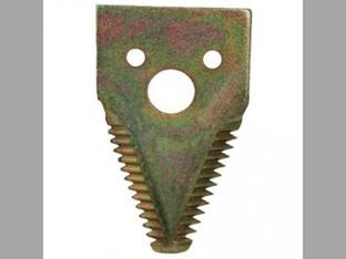 "Course Tooth Knife End Section - 4"" John Deere 630FD 600 H163132"