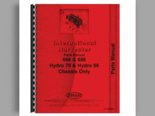 Parts Manual - IH-P-666 686+ Harvester International 686 Hydro 70 666 Hydro 86