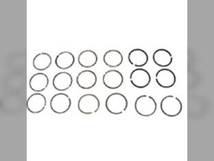 "Piston Ring Set - .020"" Oversize - 4 Cylinder Allis Chalmers G Massey Harris Pony Continental N62"