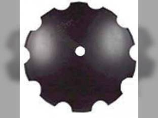"Disc Blade 22"" Notched Edge 3/16"" Thickness 1-1/2"" Round Axle"