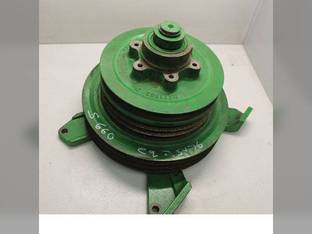 Used Feeder House Jackshaft and Pulley Assembly