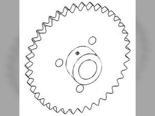 Feeder Beater Drive Sprocket Gleaner L3 L3 L2 L2 71300218