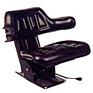 Universal Replacement Seat & Suspension - Black