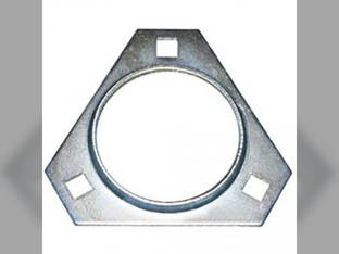 Flange Half Bearing - 3 Bolt Triangular Case IH 1660 2188 7120 2366 2166 1640 2388 1680 John Deere 9600 9510 9560 9450 9400 9550 9660 9500 9410 9610 9650 CTS New Holland Vermeer International 1460