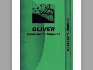 Operator's Manual - OL-O-550 Oliver 550 550
