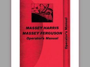 Operator's Manual - 35 Massey Ferguson 35 35