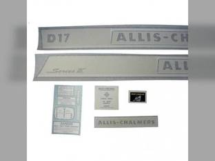 Decal Set Allis Chalmers D17