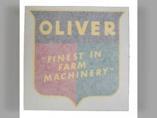 "Tractor Decal Finest in Farm Machinery 1-7/8"" Vinyl Oliver 880 Super 55 550 1955 88 1555 1600 660 Super 88 1550 1750 1950 Super 77 1755 70 2150 1800 77 66 1850 1650 770 1655 1855 1900 Super 66 2050"