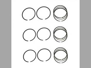Piston Ring Set - Standard - 3 Cylinder John Deere 1520 4030 2040 6329D 165 1530