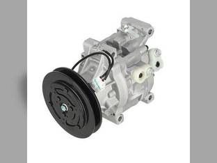 Air Conditioning Compressor - w/Clutch Kubota L3940 L4240 M6800 L4310 M105 L3540 L3240 M8200 L3430 L4330 M5700 M9000 L4630 L4740 M4900 M110 M95 L5030 Massey Ferguson Challenger / Caterpillar AGCO