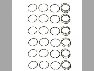 Piston Ring Set - Standard - 6 Cylinder Allis Chalmers D3400 D3500 7040 7060 7045 7050 D3700 7080 7580 7030 670HI 670T 645B D21 670I D3750 210 220 7G Gleaner L2 L