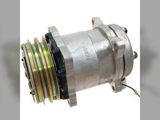 Air Conditioning Compressor with Clutch - Sanden New Holland TR89 TR98 TR88 TR99 TR87 TR97 86508521 Case IH SPX2130 86508521 Case 2594 2294 2390 2094 2290 2090 2394 3294 2590