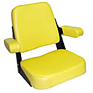 Seat Assembly - Yellow Vinyl