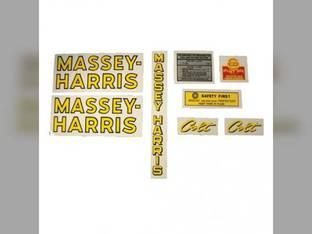 Tractor Decal Set Colt Mylar Massey Harris Colt
