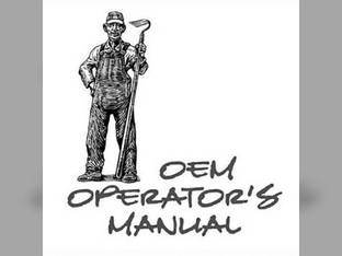 Operator's Manual - KU-O-L225 Kubota L225